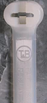 TUB Kabelbinder 4,8x360 Natur      TY28M