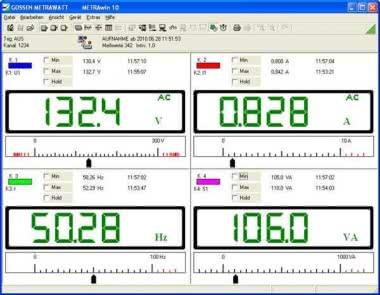 Gossen Software f.Multimeter METRAwin 10