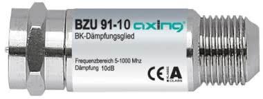 AXING BK-Dämpfungsglied 10dB   BZU 91-10