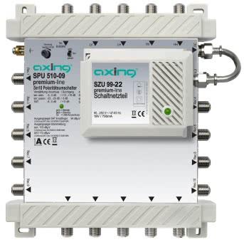 AXING Multischalter 5in10     SPU 510-09