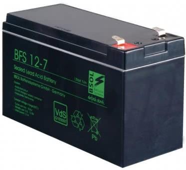 ABUS VdS Akkumulator 12V,  7 Ah   BT2070
