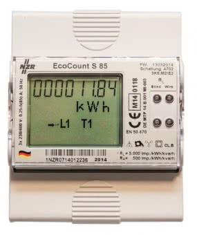 NZR Drehstromzähler EcoCount S 85