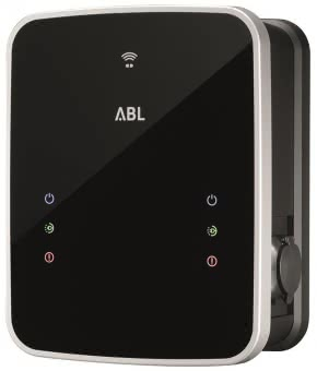 ABL Wallbox eMH3 Twin m.Steckdose 3W2214