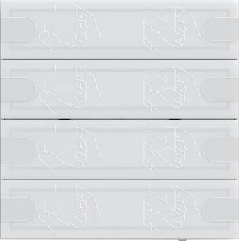 GIRA KNX Tastsensor 4  4-fach    5004003