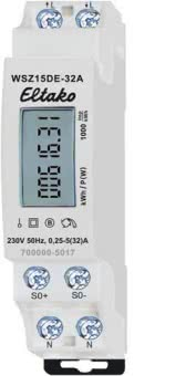 Eltako Wechselstromzähler    WSZ15DE-32A