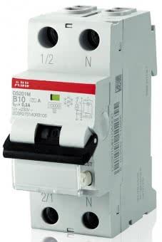 ABB FI/LS-Schalter       DS201A-B16/0,03