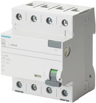 Siemens FI-Schalter 4x40A       5SV33446