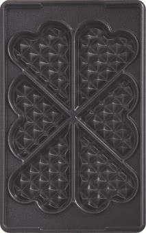 TEFAL Platte Herzwaffeln XA 8006  (Nr.6)