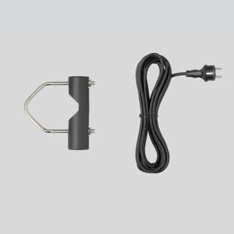 BEGA Rohrschelle G1/2 grafit         280