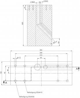 ABL  Fertigfundament aus Beton   EMH9999