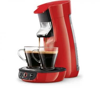 Philips HD 6563/80 rot Kaffeeautomat
