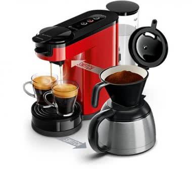 Philips HD 6592/80 rot Kaffeeautomat