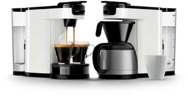 Philips HD 6592/00 weiß Kaffeeautomat