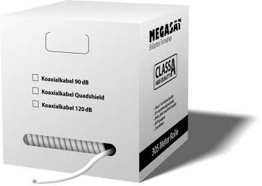 Megasat Pull-out Box Quad-Shield 120