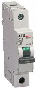 AEG LS-Schalter B 20A           EP61 B20