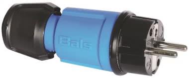 Bals Schuko Stecker blau            7370