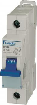 DOEP Automat B 16A          DLS 6I B16-1