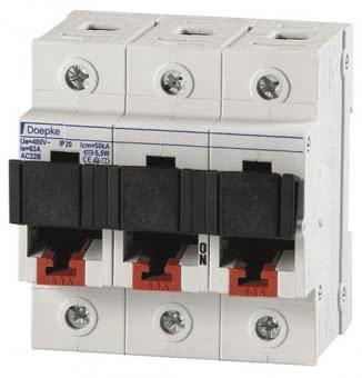 DOEP Lasttrenner 63A 3-polig   D0-63A/3p