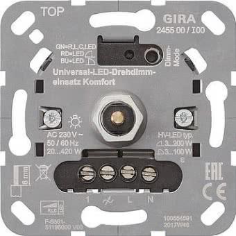 GIRA Universal LED Drehdimmer     245500