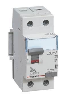 LEGR Tx3 FI-Schalter 40A 2P 30Ma  411560