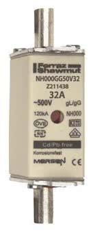 Mersen 1B643.000000 NH000 32A gG 500V