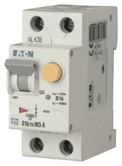 EATON FI/LS 16A 30mA    PXK-B16/1N/003-A