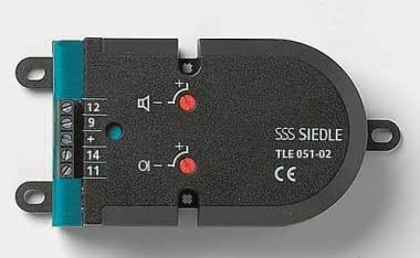 SIED Einbautür-Lautsprecher    TLE051-02