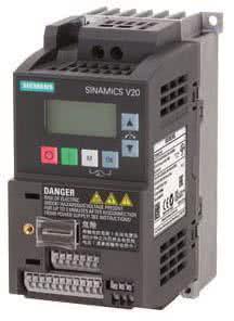 SIEM SINAMICS V20     6SL3210-5BB17-5UV1