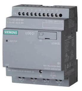 Siemens 12/24V/Relais LOGO!8 12/24RCEo