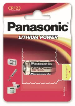 Panasonic Photobatterie CR123A