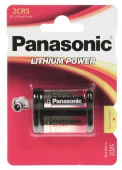 Panasonic Photobatterie 2CR5