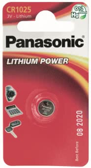 Panasonic Lithium Power     CR1025EL/1B