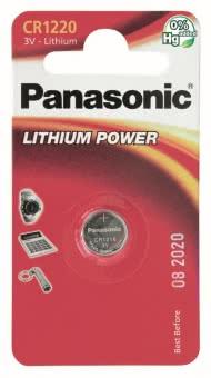 Panasonic Lithium Power      CR1220EL/1B