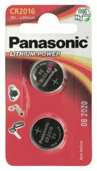 Panasonic Lithium Power CR2016EL/2B