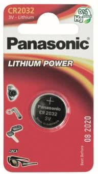 Panasonic Lithium Power      CR2032EL/1B