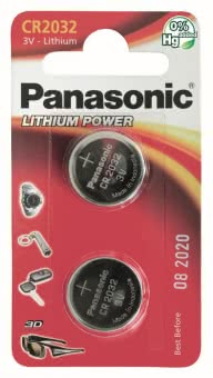 Panasonic Lithium Power CR2032EP/2BP