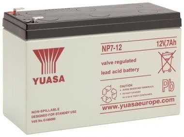 Yuasa         YBL12/7.0 4,8MM VDS NP7-12