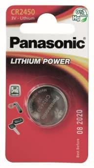 Panasonic Lithium Power      CR2450EL/1B