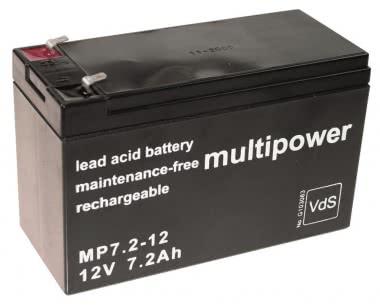 Multipower  MBL12/7,2/VDS 4,8MM MP7,2-12