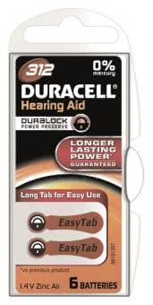 Duracell Hörgeräte-    D312ETAC 15070638