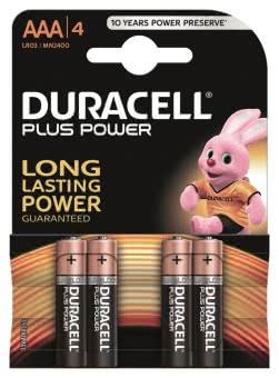 DURA Alkaline PLUS Micro LR03     038141