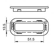 OBO Kabelschutzring Seite AZ  KSR-910 PE