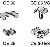 CABLO Klemmstück 25mm CE25 V2A   558018