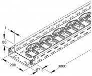 NIED Kabelrinne RLVC 60.200