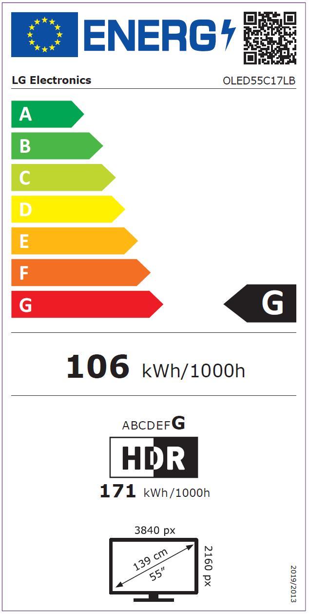LG OLED55C17LB.AEU sw OLED-TV