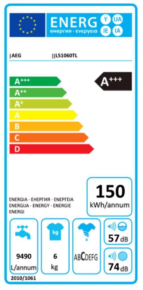 AEG LAVAMAT L 51060 TL Toplader