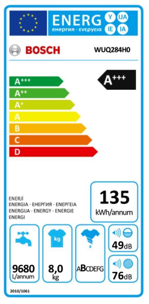BOSCH WUQ 284 H 0 Waschautomat  (EX)