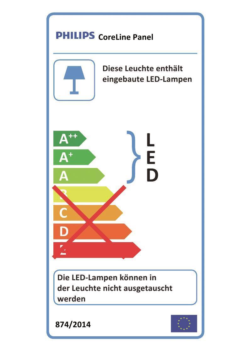 PHIL LED-Panel RC128V LED36S    38069400
