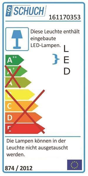 SCHUCH LED-Fr-Leuchte 21W   16115L34 AUS
